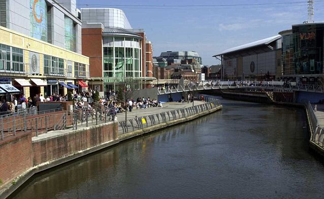 reading case study ..pic shows reading town centre..pi by barry phillips..